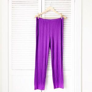 Antthony Purple Yoga Pants NWOT